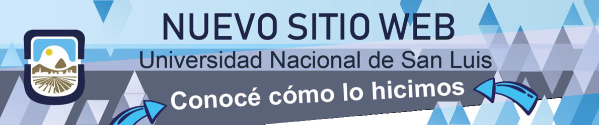 Banner nuevo sitio web UNSL