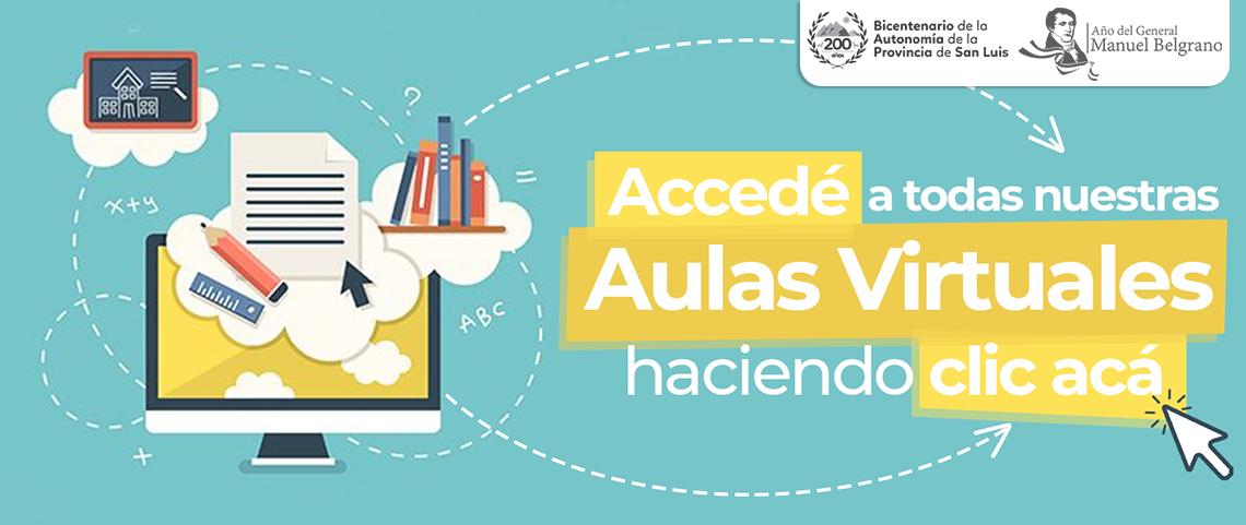 acceso a todas nuestras aulas virtuales