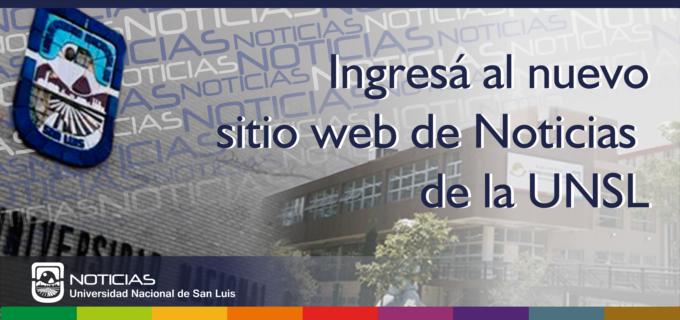 Banner publicitario del nuevo sitio web de Noticias