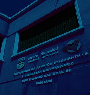 Fachada Centro de Salud Estudiantil Sede San Luis